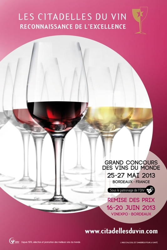 Challenge international du vin à Bourg sur Gironde
