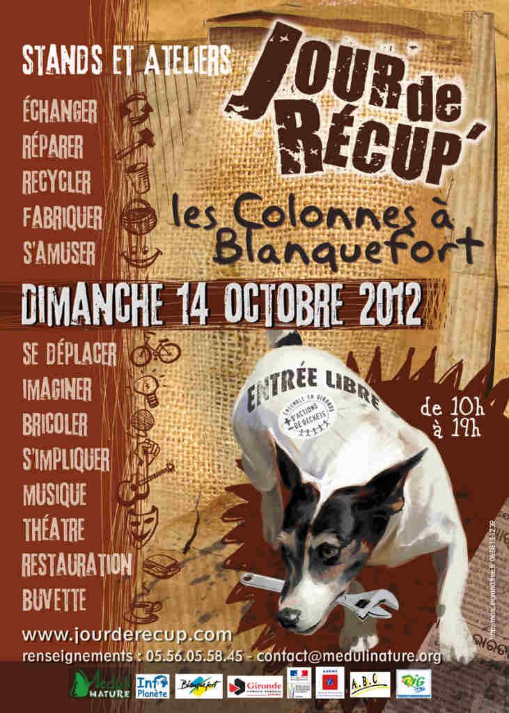 Jour de récup' à Blanquefort