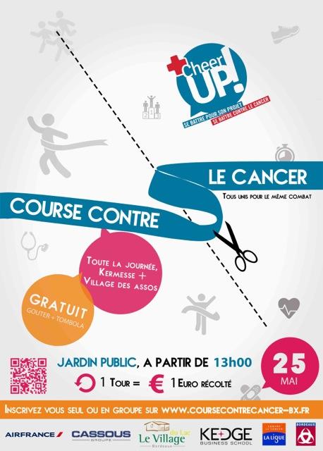 25 mai 2014 : Course contre le cancer