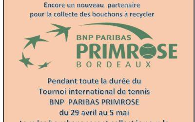 TENNIS de PRIMEROSE à BORDEAUX DU 29 AVRIL AU 5 MAI 2019